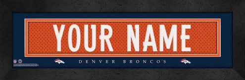 Denver Broncos Personalized Stitched Jersey Print