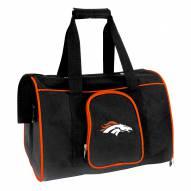 Denver Broncos Premium Pet Carrier Bag