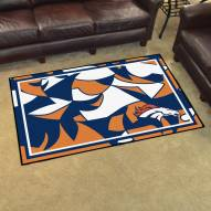 Denver Broncos Quicksnap 4' x 6' Area Rug