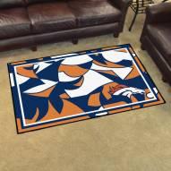 Denver Broncos Quicksnap 4' x 6' Area Rug
