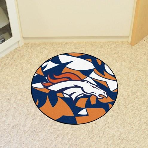 Denver Broncos Quicksnap Rounded Mat