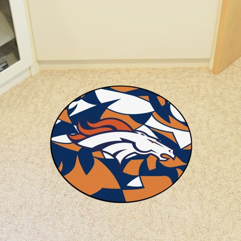 Denver Broncos Quicksnap Rounded Mat