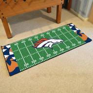 Denver Broncos Quicksnap Runner Rug