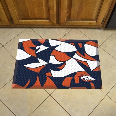 Denver Broncos Quicksnap Scraper Door Mat