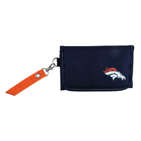 Denver Broncos Ribbon Organizer Wallet