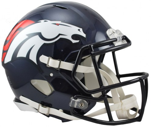 Denver Broncos Riddell Speed Full Size Authentic Football Helmet