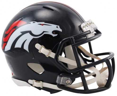 Denver Broncos Riddell Speed Mini Collectible Football Helmet