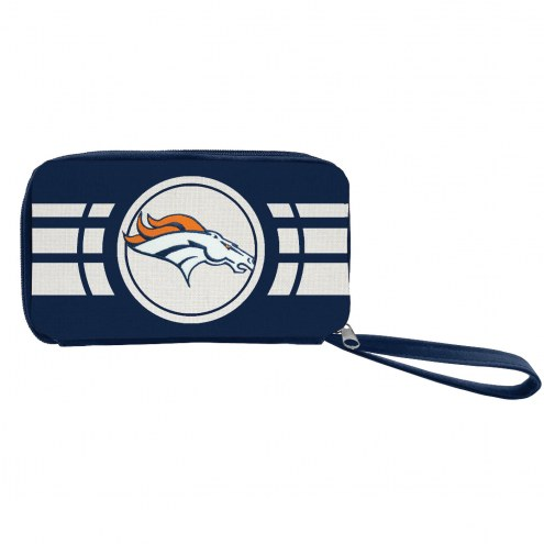 Denver Broncos Ripple Zip Wallet