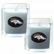 Denver Broncos Scented Candle Set