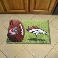 Denver Broncos Scraper Door Mat