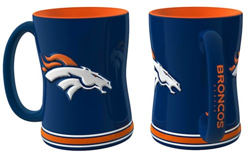 Denver Broncos Sculpted Relief Coffee Mug