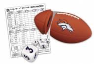 Denver Broncos Shake N' Score Travel Dice Game