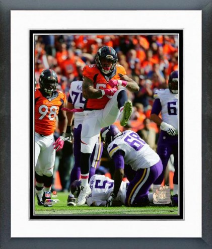 Denver Broncos Shane Ray Action Framed Photo