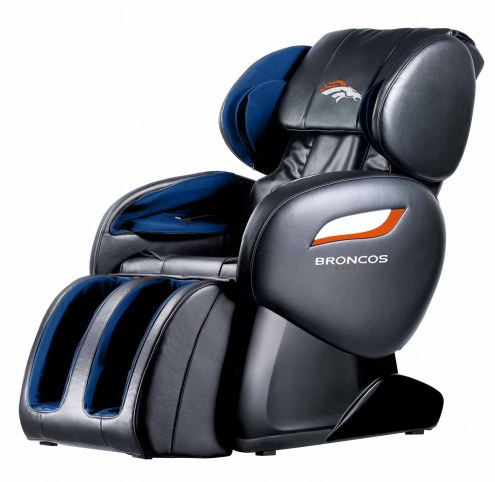 Denver Broncos Shiatsu Zero Gravity Massage Chair