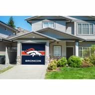 Denver Broncos Single Garage Door Cover