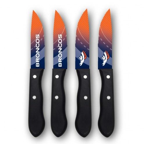 Denver Broncos Steak Knives