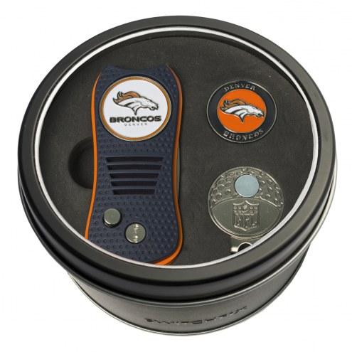 Denver Broncos Switchfix Golf Divot Tool, Hat Clip, & Ball Marker