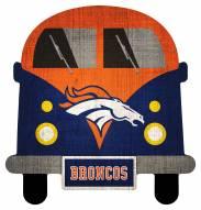 Denver Broncos Team Bus Sign