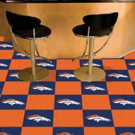 Denver Broncos Team Carpet Tiles