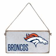 Denver Broncos Mini Plank