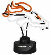 Denver Broncos Team Logo Neon Lamp