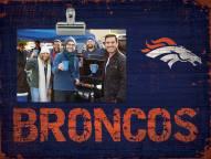 Denver Broncos Team Name Clip Frame