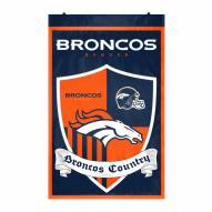 Denver Broncos Team Shield Banner