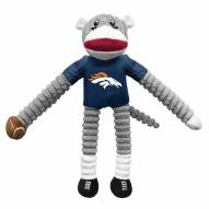 Denver Broncos Team Sock Monkey Pet Toy