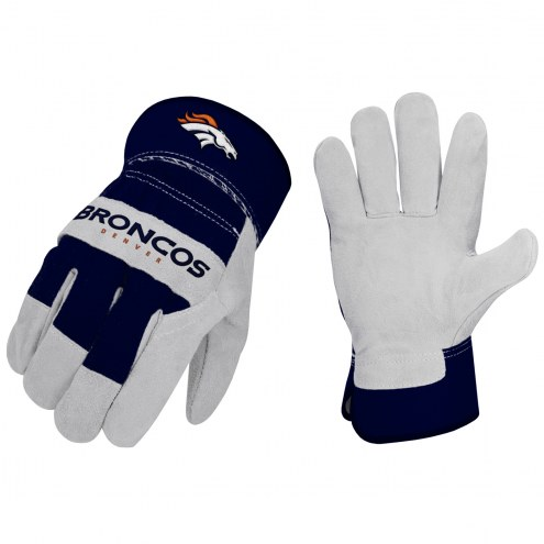 Denver Broncos The Closer Work Gloves