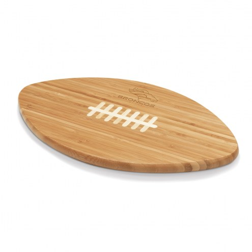 Denver Broncos Touchdown Cutting Board