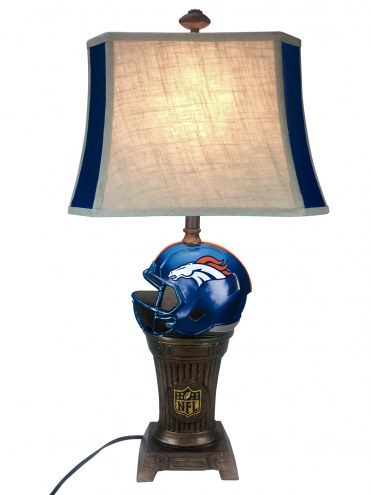 Denver Broncos Trophy Lamp