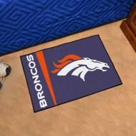 Denver Broncos Uniform Inspired Starter Rug