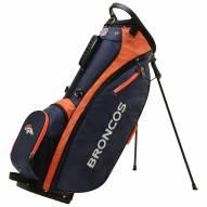 Denver Broncos Wilson NFL Carry Golf Bag