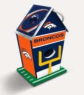Denver Broncos Wood Birdhouse