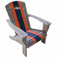 Denver Broncos Wooden Adirondack Chair