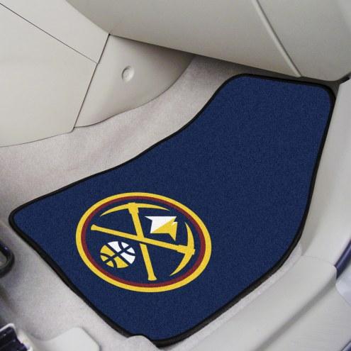 Denver Nuggets 2-Piece Carpet Car Mats