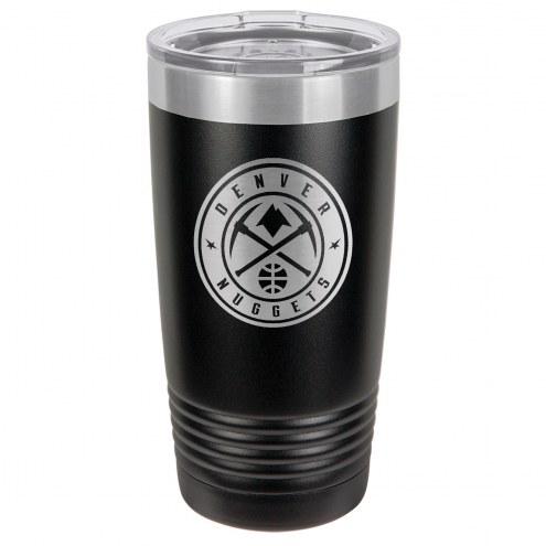 Denver Nuggets 20 oz. Black Stainless Steel Polar Tumbler