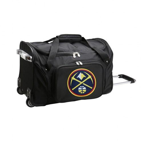 "Denver Nuggets 22"" Rolling Duffle Bag"