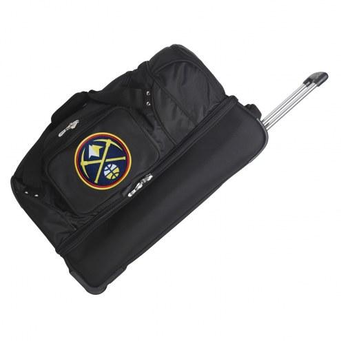 "Denver Nuggets 27"" Drop Bottom Wheeled Duffle Bag"