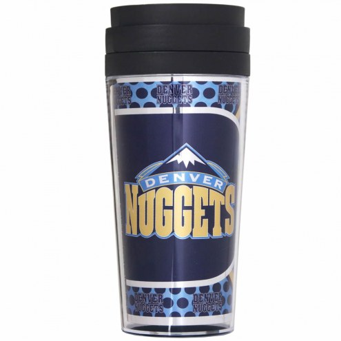 Denver Nuggets Acrylic Travel Tumbler