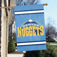 Denver Nuggets Applique 2-Sided Banner Flag