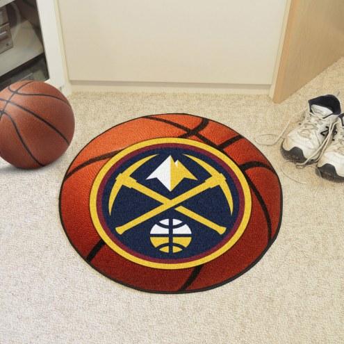 Denver Nuggets Basketball Mat