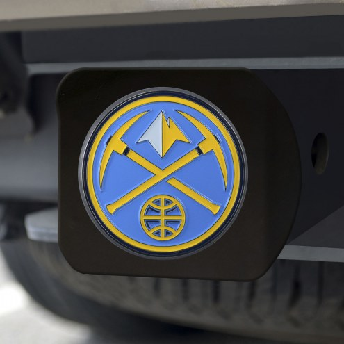 Denver Nuggets Black Color Hitch Cover