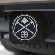 Denver Nuggets Black Matte Hitch Cover