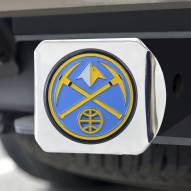 Denver Nuggets Chrome Color Hitch Cover