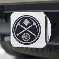 Denver Nuggets Chrome Metal Hitch Cover