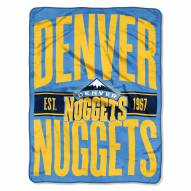 Denver Nuggets Clear Out Throw Blanket