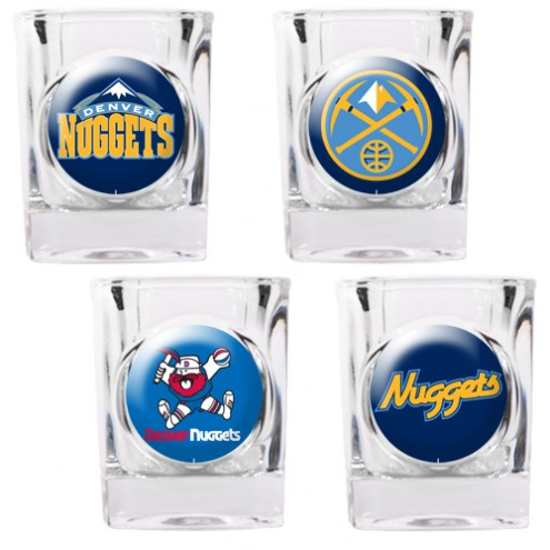Denver Nuggets Collector's Shot Glass Set