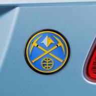 Denver Nuggets Color Car Emblem