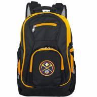 NBA Denver Nuggets Colored Trim Premium Laptop Backpack